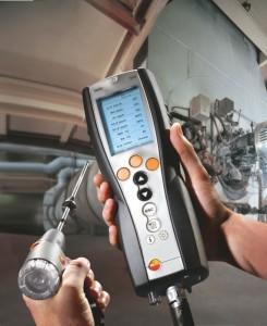 Анализатор дымовых газов testo 340 купить