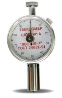ТВР-A твердомер (дюрометр) Шора тип А с аналоговым индикатором