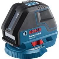 Лазерный уровень Bosch GLL 3-50 Professional + BM 1 + L-BOXX
