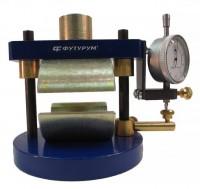 Обжимное устройство для определения характеристик сдвигоустойчивости асфальтобетона по схеме Маршалла с индикатором часового типа УС-Ф