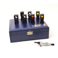 Наборы прозрачных мер координат цвета и цветности НМП-01 и НМП-02