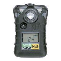 Сигнализатор ALTAIR H2S, пороги тревог: 5 ppm и 10 ppm (равно 7 и 14 мг/м3)