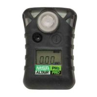 Газоанализатор ALTAIR PRO PH3, пороги тревог: 0,1 ppm и 0,2 ppm