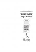 HI935002 двухканальный термометр (без датчиков)