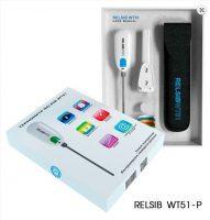 Измеритель температуры переносной RELSIB WT51 (с передачей данных по Bluetooth 4,0) с кронштейном