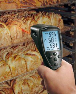 Testo 845 термометр инфракрасный с переключаемой оптикой (75:1)