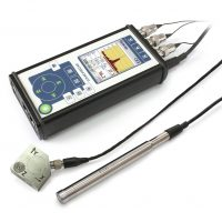 ЭКОФИЗИКА-110А Компакт (Белый) — Четырехканальный шумомер, виброметр, анализатор спектра