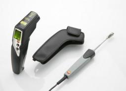 Комплект testo 830-T4 (инфракрасный термометр и поверхностный зонд с подпружиненной термопарой)