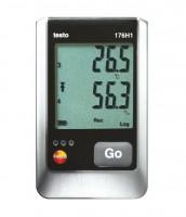 Логгер данных температуры и влажности testo 176-H1