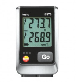 Логгер данных температуры testo 175 T3
