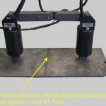 Намагничивание простых поверхностей электромагнитом с совмещенным сердечником