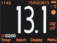 Elcometer 130 Большой цветной ЖК дисплей