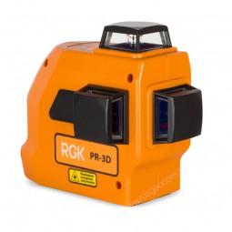 Лазерный уровень RGK PR-3D в кейсе