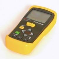 Цифровой термометр с выносным контактным датчиком типа «K» TQC TE1000