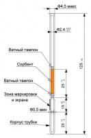 Индикаторные трубки для контроля качества нефтепродуктов