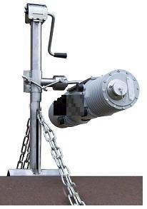 СПРУТ ШРТ-1/МАРТ-250, штатив трубный цепной, держатель для аппарата МАРТ-250