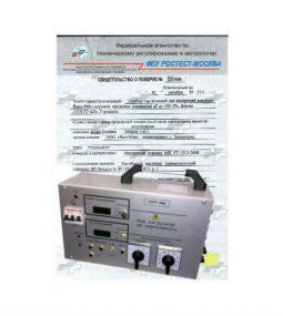 Поверка устройства для проверки токовых расцепителей автоматических выключателей