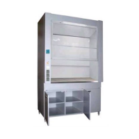 Вытяжной шкаф для электропечи SNOL 800х880х1900