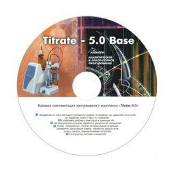 Программное обеспечение Titrate-5.0 Молоко