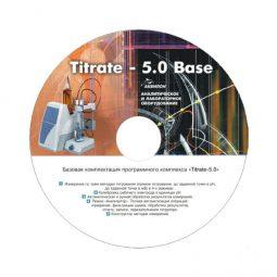 Программное обеспечение Titrate-5.0 Хлорорганика