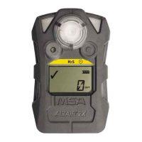 Газоанализатор ALTAIR 2X H2S-Pulse, пороги тревог: 10 ppm и 15 ppm