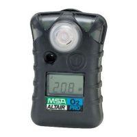 Газоанализатор ALTAIR PRO O2, пороги тревог: 19,5% и 23,0%