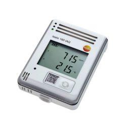 WiFi-логгер данных Testo 160 IAQ с дисплеем и встроенными сенсорами температуры, влажности, CO2 и атмосферного давления