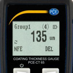 Толщиномер для лакокрасочных покрытий PCE CT 65